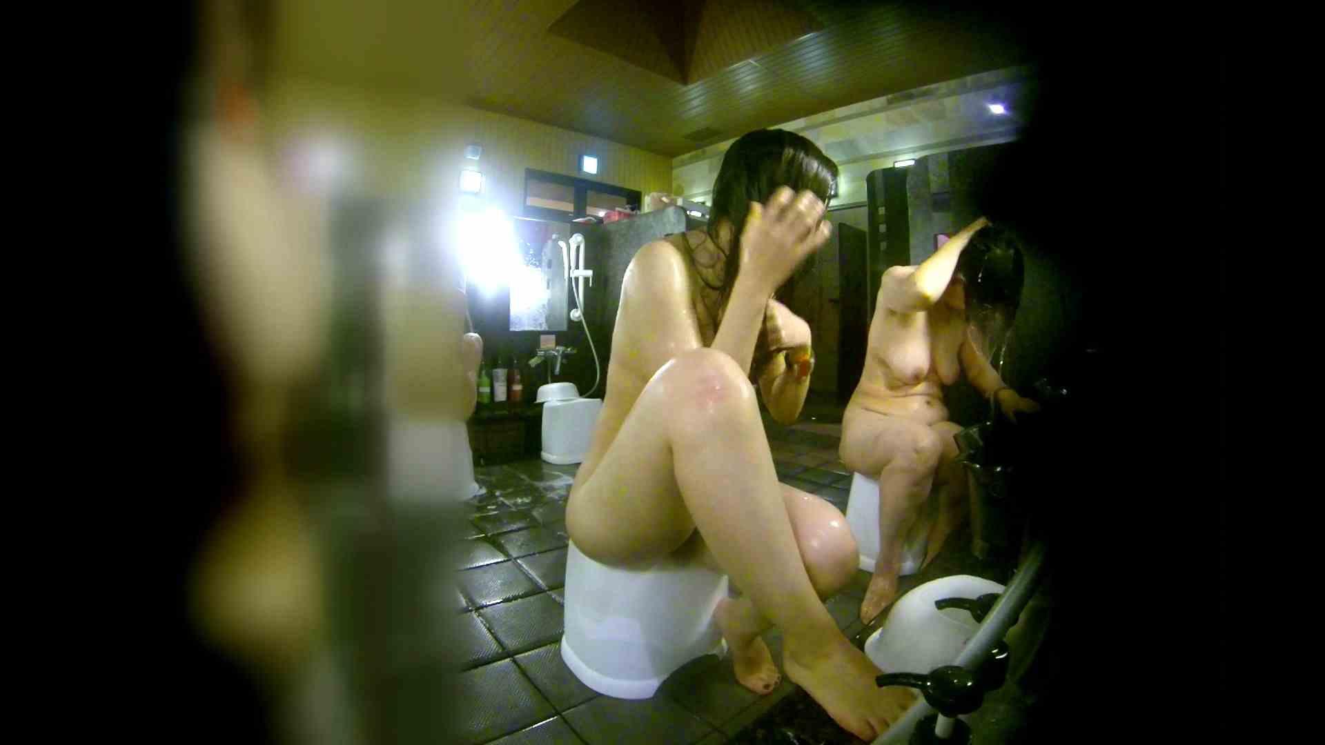 洗い場!右足の位置がいいですね。陰毛もっさり! 銭湯  113pic 36