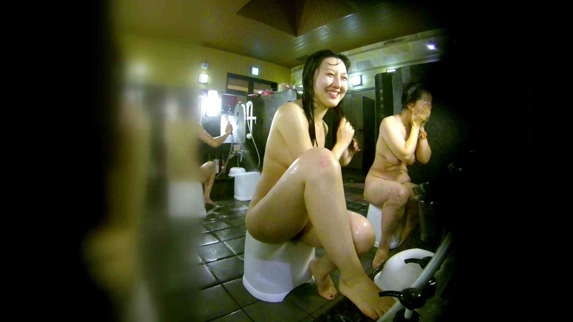 洗い場!右足の位置がいいですね。陰毛もっさり! 銭湯  113pic 42