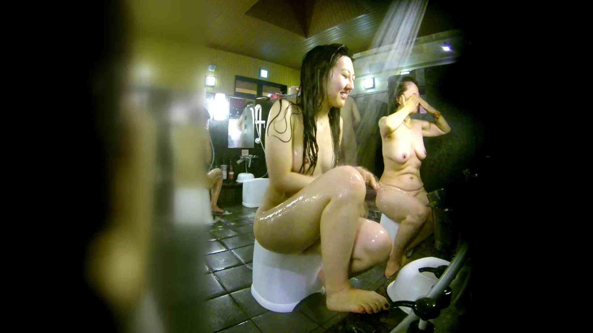 洗い場!右足の位置がいいですね。陰毛もっさり! 潜入 おまんこ動画流出 113pic 44