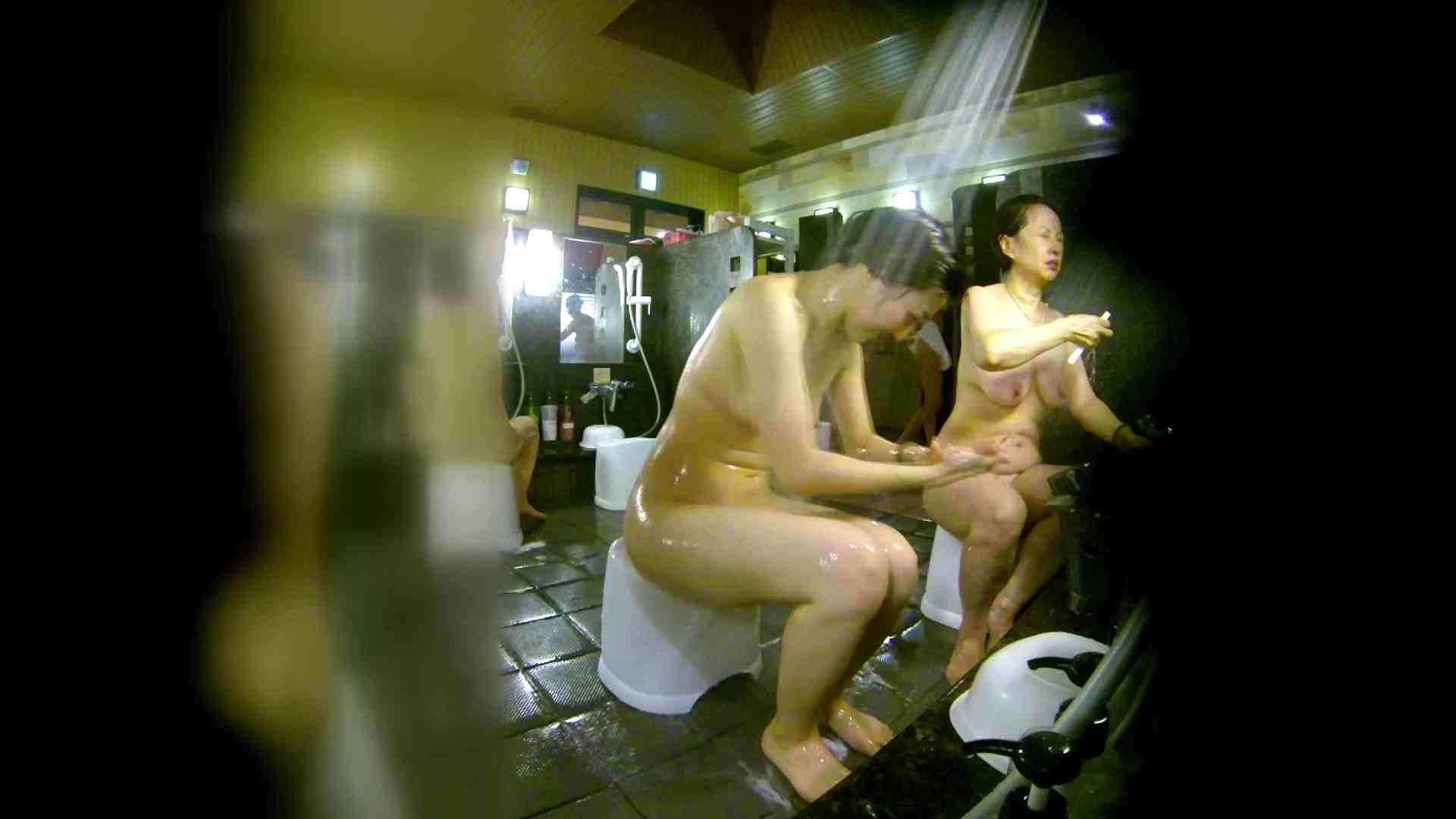 洗い場!右足の位置がいいですね。陰毛もっさり! 銭湯  113pic 57