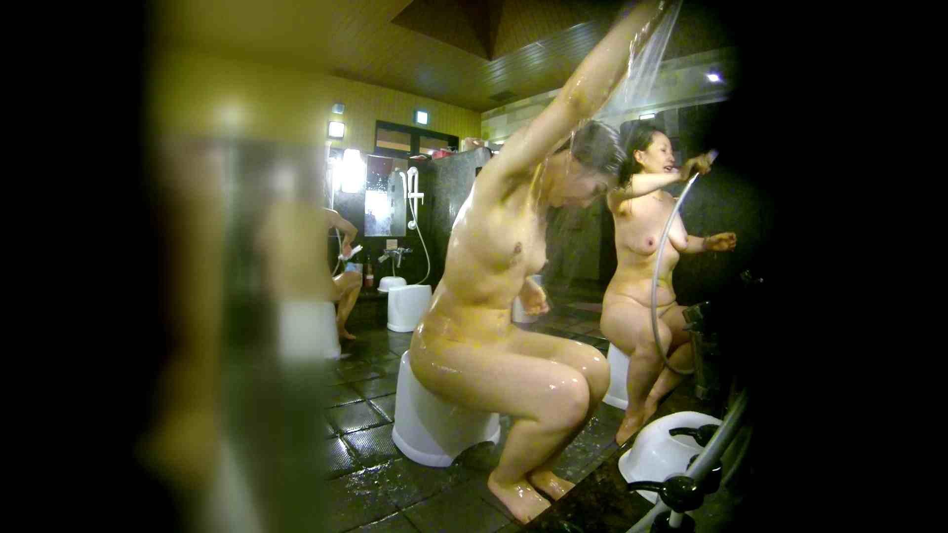 洗い場!右足の位置がいいですね。陰毛もっさり! 銭湯  113pic 63