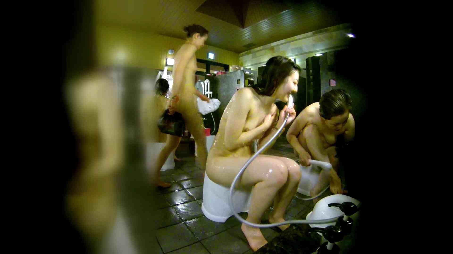 洗い場!右足の位置がいいですね。陰毛もっさり! 銭湯  113pic 75